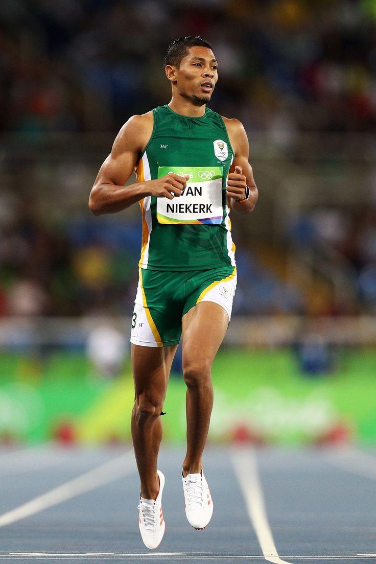 South Africa's Wayde van Niekerk. Athletics - 400m 2016 @ Rio.