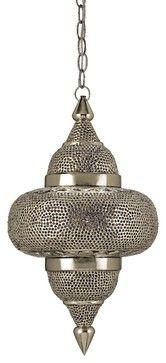 Currey and Company Tangiers Pendant - mediterranean - pendant lighting - Candelabra