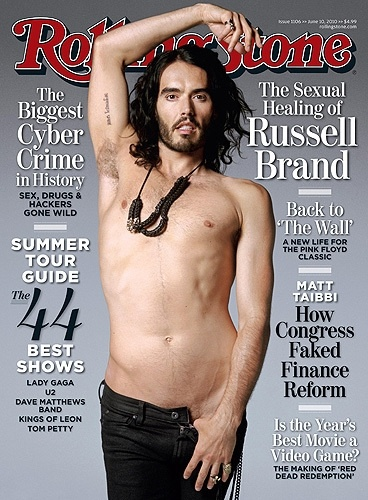 Russel Brand. sexual healing. LOL