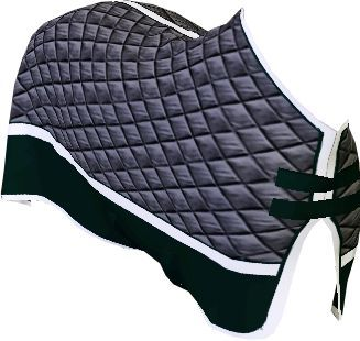Allround saddle with rubber girth