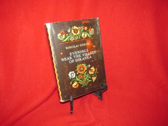 "Vintage Ukranian Novel by Nikolai Gogol ""Evenings Near the Village of Dikanka"" by TheBookE on Etsy"