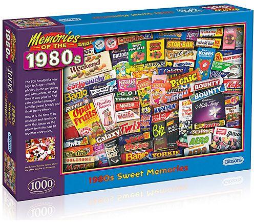 1980's Sweet Memories 1000 Piece Jigsaw Puzzle