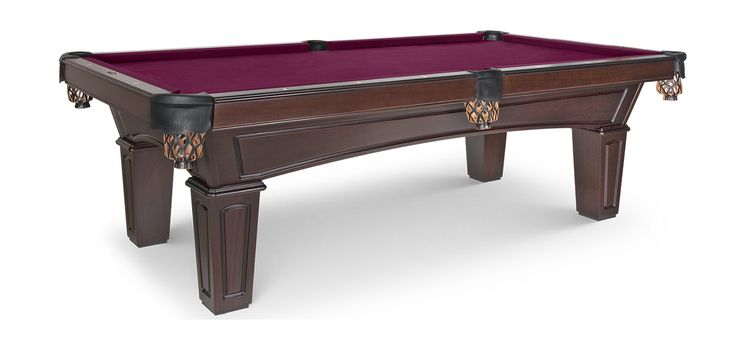 The perfect entry-level Olhausen Pool Table, the Belmont is a clean, modern table for a great value. Made in the USA by Olhausen Billiards.