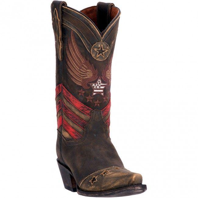 DP3676 Dan Post Women's N'Dependence Western Boots - Brown www.bootbay.com