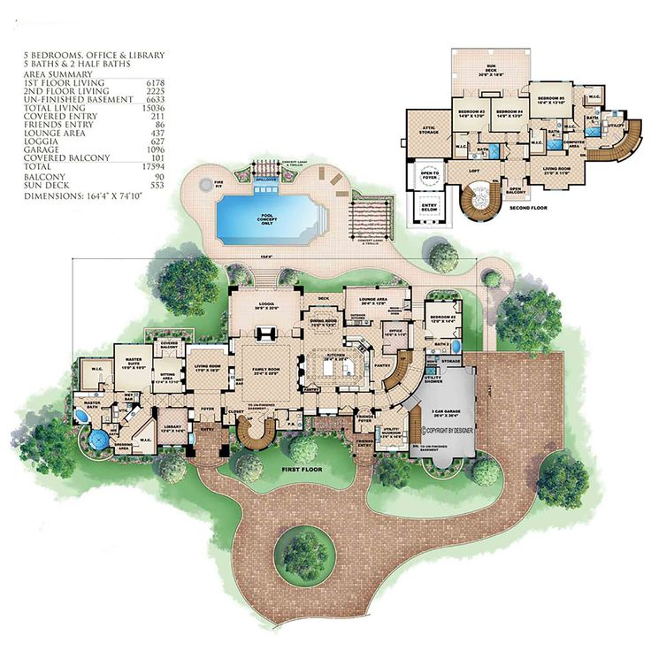 17 best images about floor plans on pinterest luxury Tuscan villa floor plans