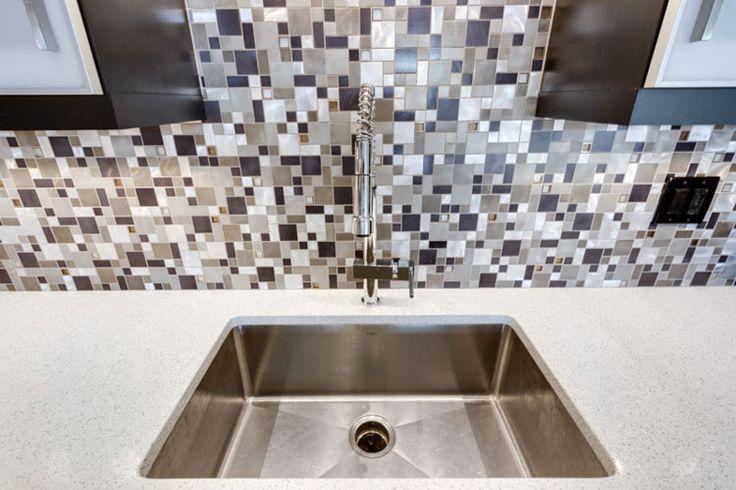 64 Best Kitchen Tile Backsplashes Images On Pinterest Kitchen Tiles Bathroom Cabinets And