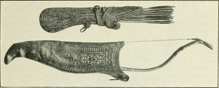 Image result for mongol bow quiver
