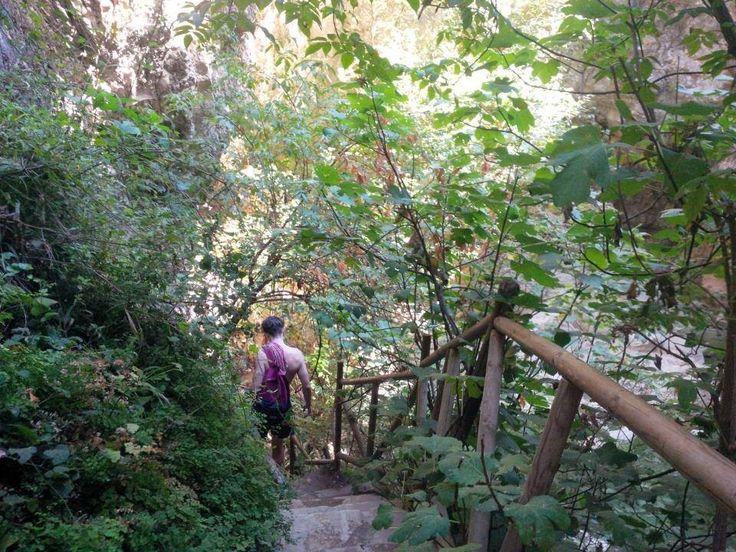 Νυδρί (Nydri) waterfall - greece.