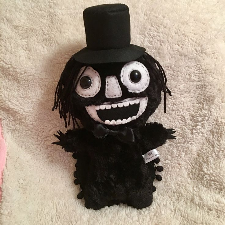 The Babadook Plush Horror Toy Creepy Cute Toys Weird Stuffed Animal Scary Stuff Spooky Goth Creature Movie Monsters Kawaii Plushie by DrFrankenBecky on Etsy https://www.etsy.com/uk/listing/499721103/the-babadook-plush-horror-toy-creepy