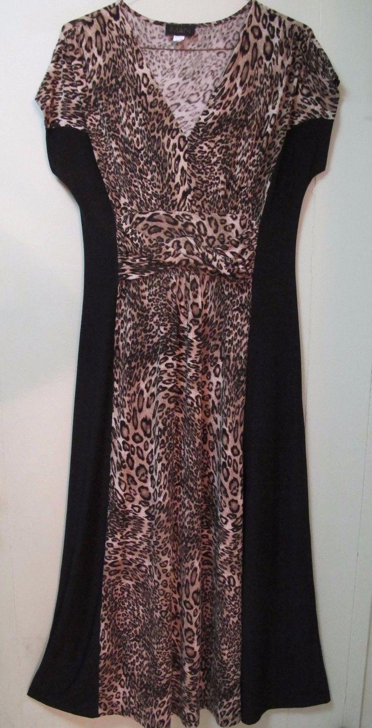 Nice Great IMAN Plus Size Maxi Dress 1X Black & Brown Animal Print Twist Ruched Waist Dress 2017-2018 Check more at http://24myshop.cf/fashion-style/great-iman-plus-size-maxi-dress-1x-black-brown-animal-print-twist-ruched-waist-dress-2017-2018/