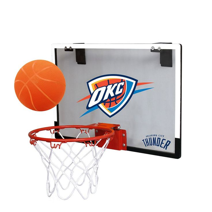 Oklahoma City Thunder Game On Hoop Set, Multicolor