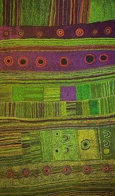 Beautiful Aboriginal Artwork: Minyma Kutjara by Maringka Baker
