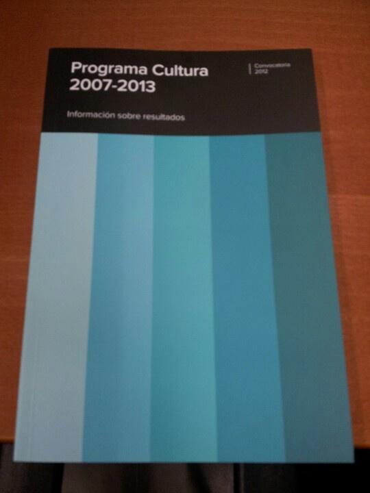 Datos del Plan Europeo por la Cultura