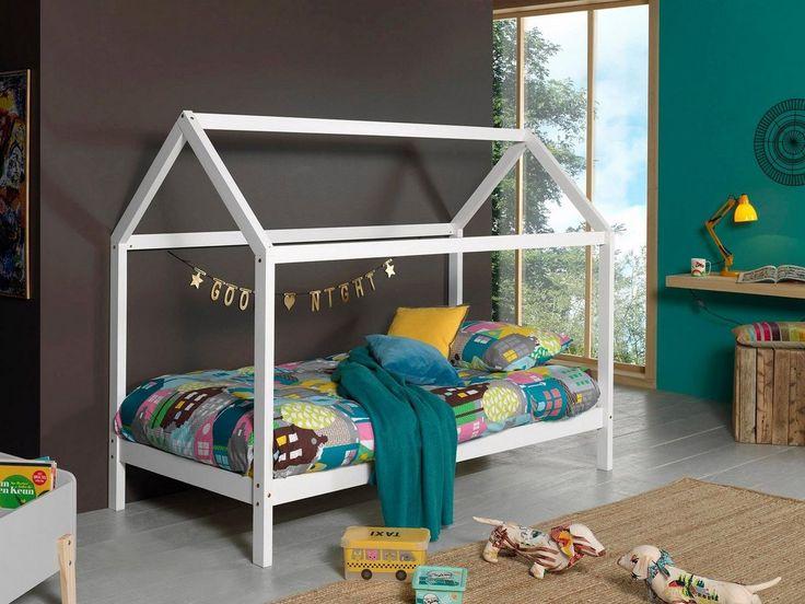 Hausbett Dallas Weisse Bettwasche Bett Ideen Und Bett