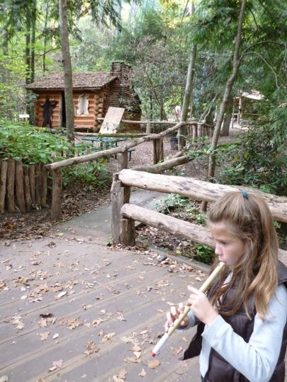 Oconaluftee Indian Village - Cherokee, NC - Kid friendly activity r…