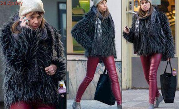 Lenka Kořínková na ulici: Nohy má hubené jak špejle!