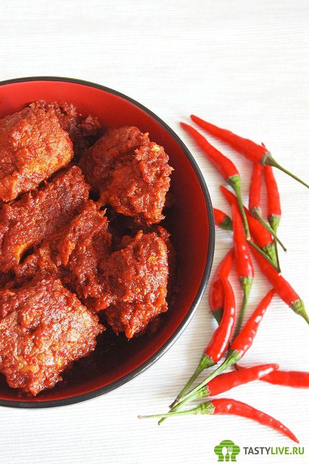 Огненная свинина Виндалу |  Fiery Pork Vindaloo