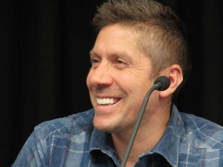 Ray Park (Darth Maul, Star Wars) at FACTS convention Belgium.