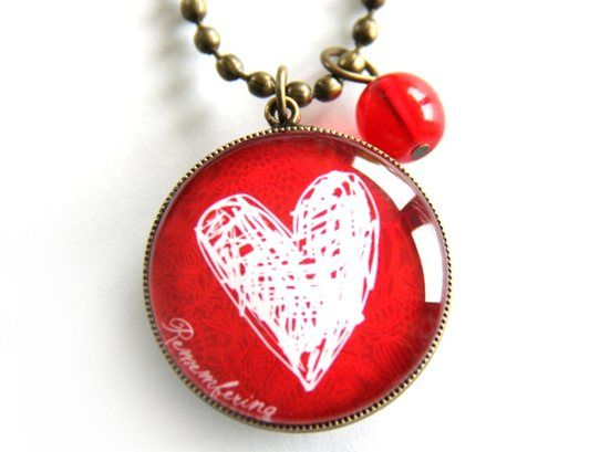 Love Christchurch Pendant Necklace 20% of proceeds donated to the Red Cross Earthquake Appeal. www.cloudninecreative.co.nz