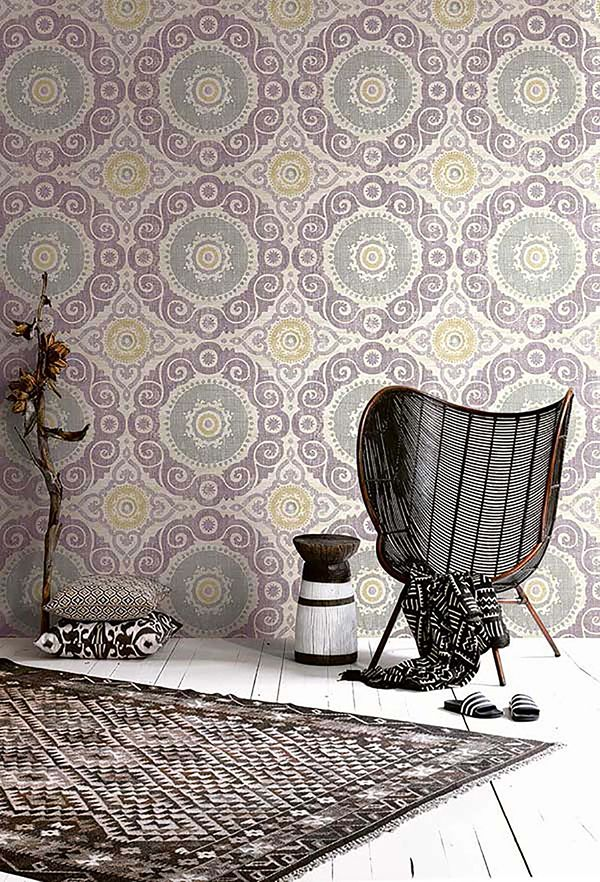 Orient Wallpaper. Oriental Wallcoverings. Global Style. KT Exclusive. Wirz Tapeten AG