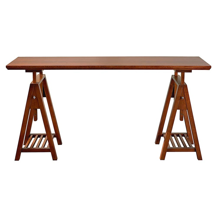 Sawhorse table might work. | For the Home- Inspiration ...