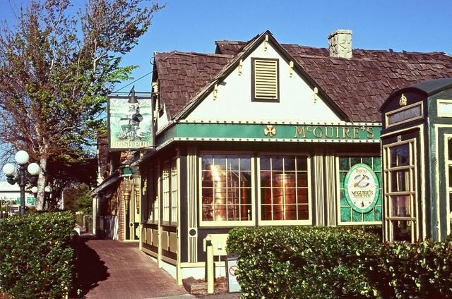 McGuire's Irish Pub - Pensacola, FL - Best burgers in town and one of the coolest buildings!  Just make sure to pay attention if visiting the restrooms :)