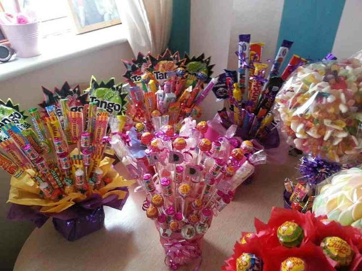 Candy Bouquets, Candy Cakes And Candy Gifts