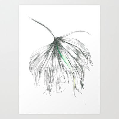 My+head+is+a+jungle++Art+Print+by+Daggy+Jess+-+$15.00