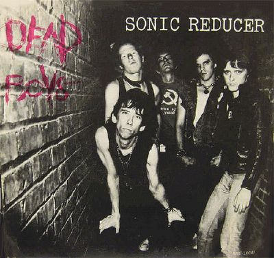 """Dead Boys-- """"Sonic Reducer""""/""""Down in Flames"""" (autographed by Cheetah Chrome...in golden sharpie)"""