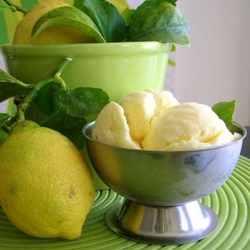 lemon icecream receipt