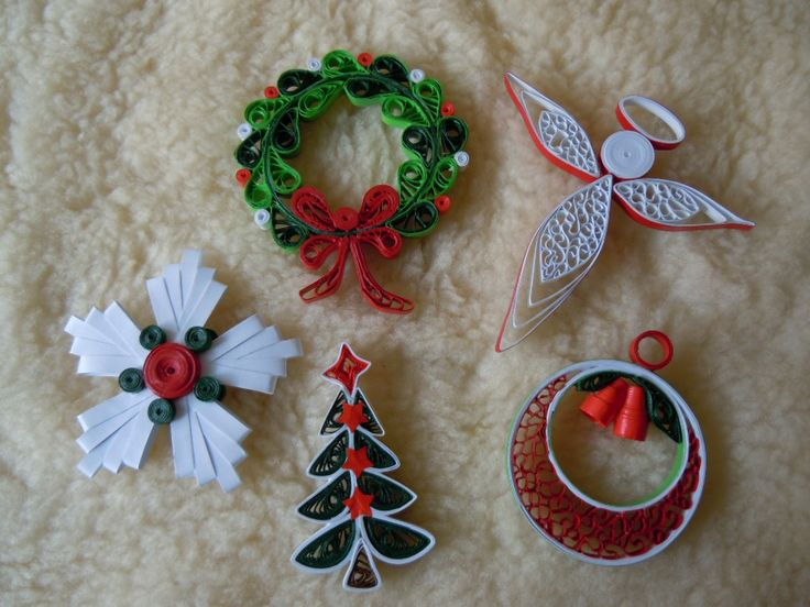 My Christmas decorations 2014 - Facebook/ Zdenka Quilling