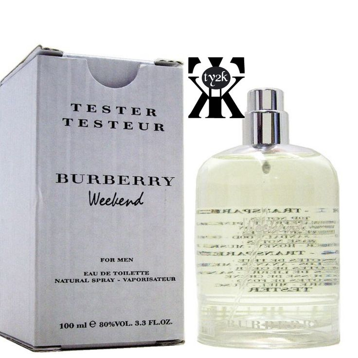 WEEKEND by Burberry Eau De Toilette Spray (Tester) 3.4 oz 100ml (Men) #Burberry