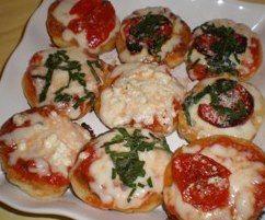 Интересный рецепт закусочной мини-пиццы на сайте Salt'im bocca