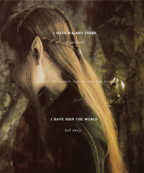 I loved this scene!! Even though she's not in the book, I think Tauriel fits into the Tolkien universe really well. I am a big Tauriel fan to be honest!