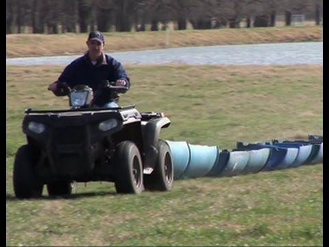 Inexpensive Portable Cattle Feeder