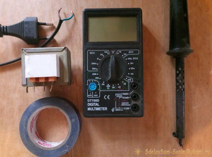 Определение характеристик силового трансформатора без маркировки