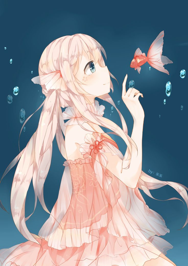 Open rp:  Hello....mr.goldfish..might you have a name? No? Me either..*she hears footsteps, and hides the fish behind her. She's now face to face with a stranger. She looks at him up and down, from his long red hair, to his bare feet. A blush sneaks up her full cheeks. She's never been this close to a man before*