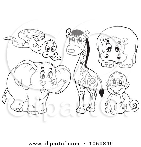 Noah Animals Coloring Pages