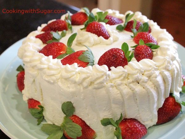 This Strawberry Whipped Cream Cake is like a Strawberry Short Cake on steroids. It has a vanilla pudding and jam filling that just makes it ultra rich. It's easy to make and can be made a day ahead of time. You can even make the ingredients and store...