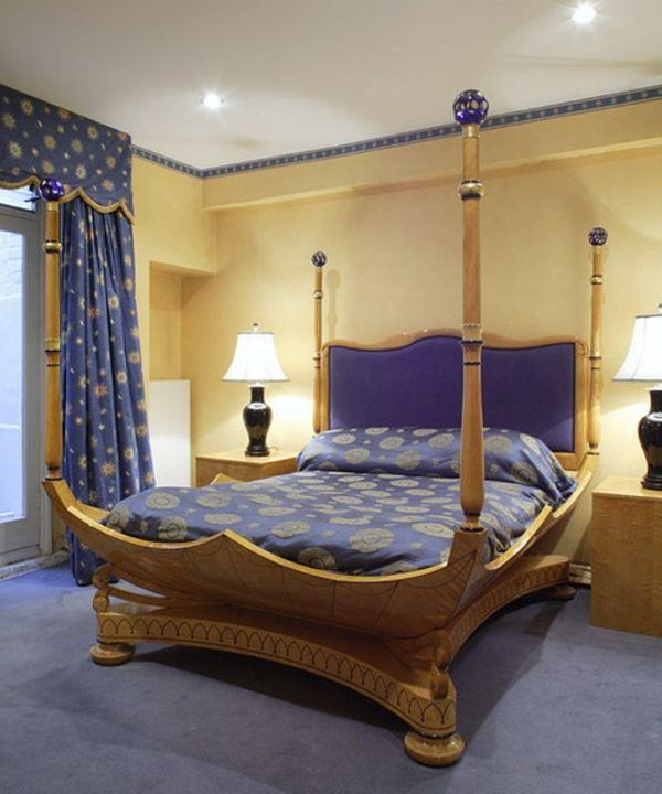 Orientalisches Schlafzimmer Dekoration. Dekoration