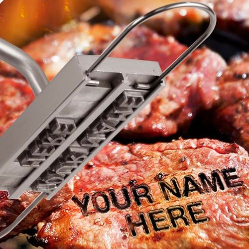 Hot stuff! Have you ever fancied branding your meat? Course you have. Personalise your steaks with our BBQ Branding Iron.