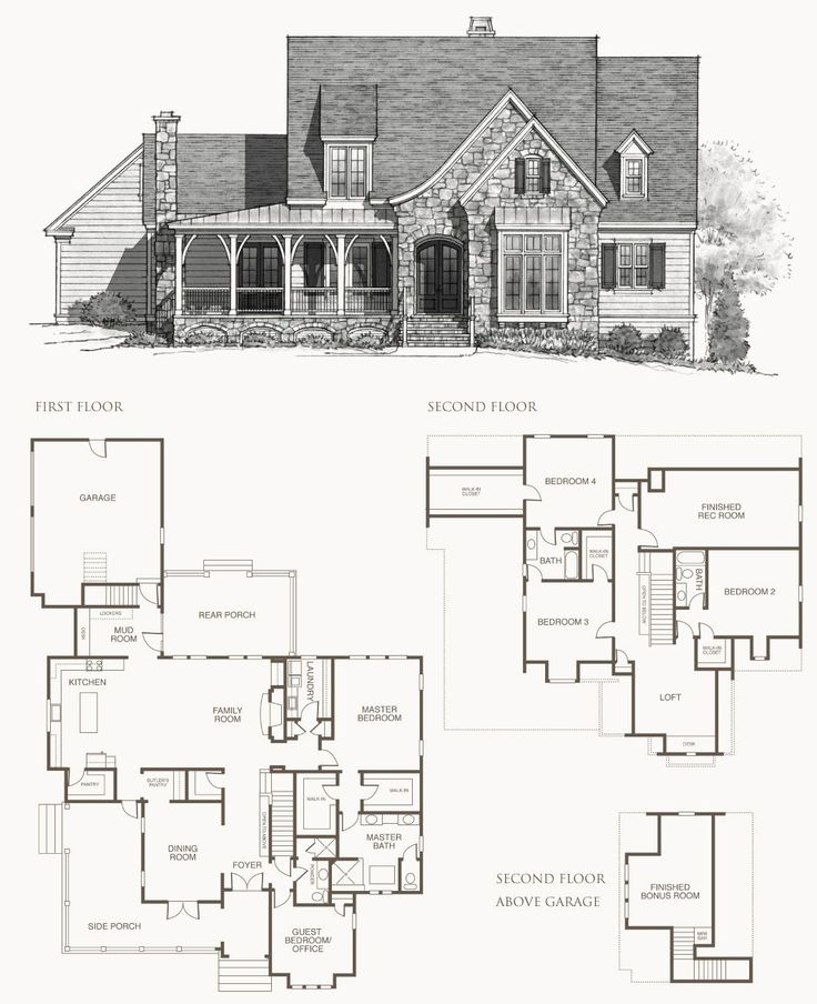 image result for southern living elberton way floor plan
