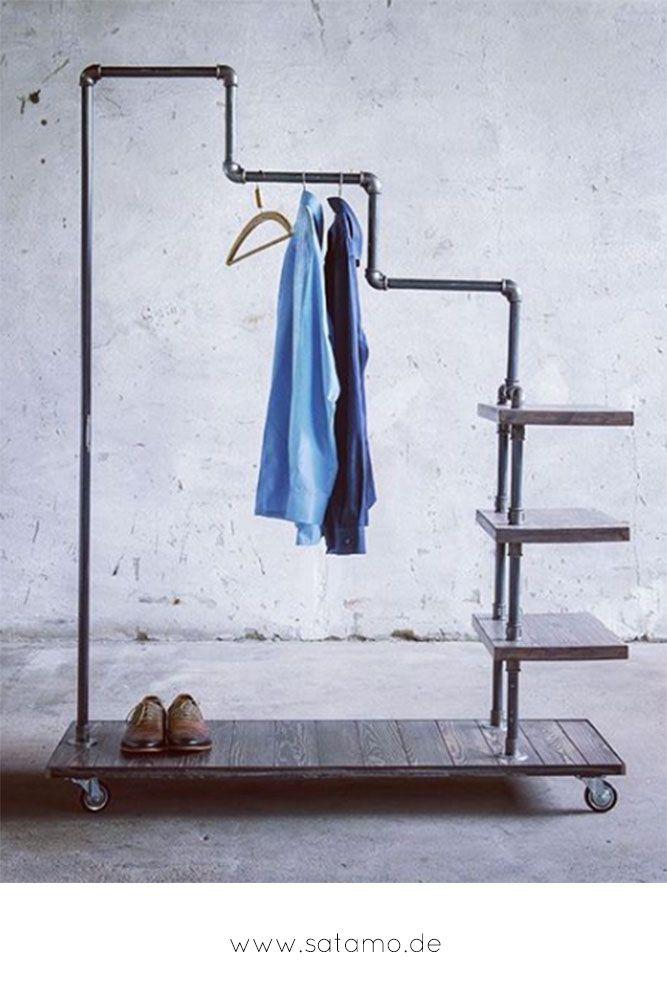 Kleiderstander Calamus Mobeldesign Garderob Metall