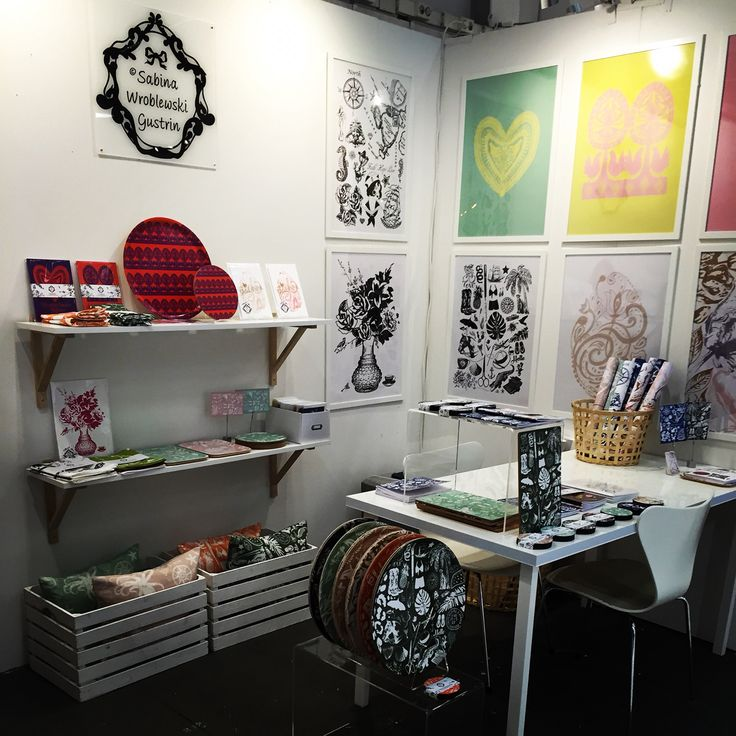 Part of Studio Sabina W Gustrin's booth at Formex.