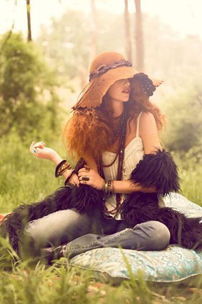 Bohemian Style for Picnic Fall 2010 | #bohemian #boho #hippie #gypsy | love it (: