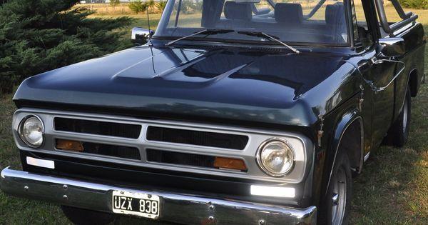 Dodge D100 1979. Motor Perkin 4.  http://www.arcar.org/dodge-d100-1979-45455