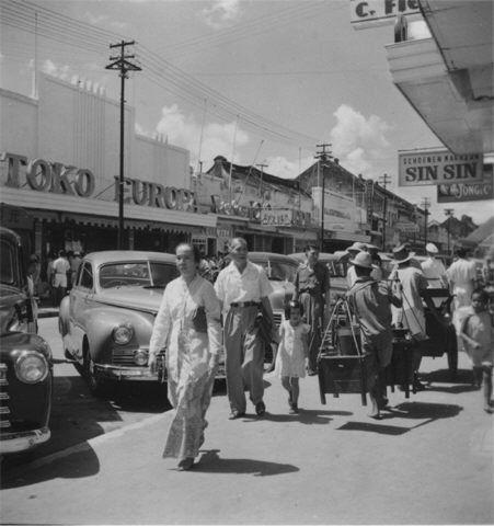 Pasar Baroe Djakarta 1950.