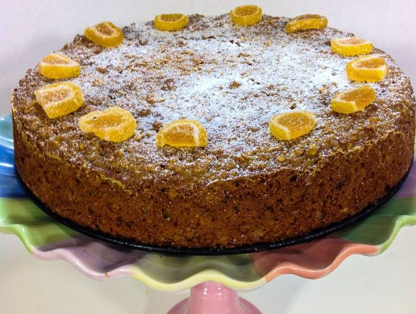 Easy Carrot and Orange Cake: no butter, no processed sugar | Good Food Everyday