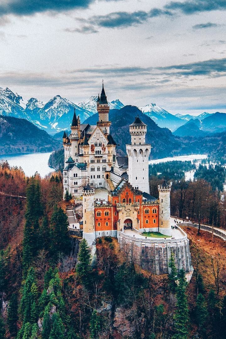 Neuschwanstein Castle, King Ludwig II of Bavaria's masterpiece
