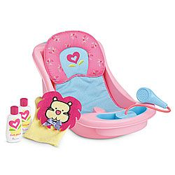 American Girl Bitty Baby Bath Set $42 for entire set, or $34 for bathtub and $8 for accessories